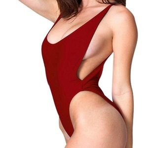 Other - Baywatch Red One Piece